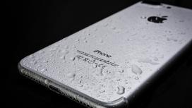 Мокрый iPhone