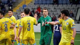 Игроки сборной Казахстана по футболу