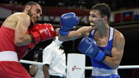 Боксер Серик Темиржанов
