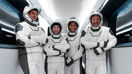 Участники полета на корабле компании SpaceX