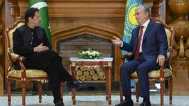 Касым-Жомарт Токаев и Имран Хан