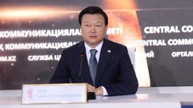 Министр здравоохранения РК Алексей Цой