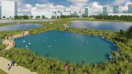 Схема благоустройства и проект детальной планировки территории вокруг озера Талдыколь