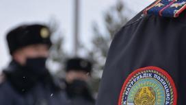 Полицейские Казахстана