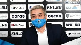 вице-президент ХК «Барыс» Арнур Альшеров