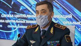 Нурлан Ермекбаев на брифинге