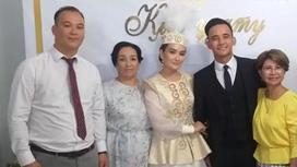 Свадьба внука Розы Рымбаевой Али Окапова