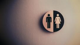 Гендерное обозначение у общественного туалета