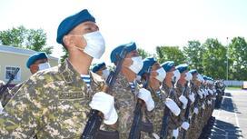военные. фото пресс-служба Минобороны РК