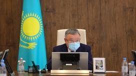 Ондасын Уразалин. Фото пресс-служба акима Актюбинской области