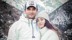 Тауекел Мусилим с женой