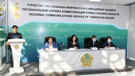 Региональная служба коммуникаций Туркестанской области