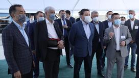 Бакытжан Сагинтаев, Амандык Баталов и Аскар Мамин