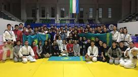 Казахстанские дзюдоисты завоевали 31 медаль на кубке Азии в Ташкенте
