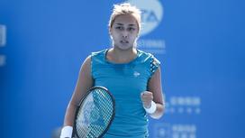Теннисистка Зарина Дияс