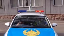 """АПК """"Сергек"""" на крыше патрульного авто"""