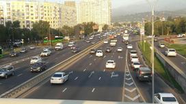 Проспект Аль-Фараби в Алматы