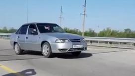 Трасса в Алматинской области