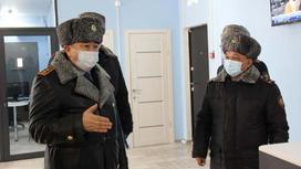 Ерлан Тургумбаев в Актюбинской области