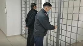 Задержание подозреваемого в Актобе