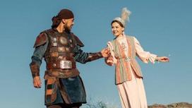 Жанель Макажан с супругом