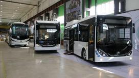 Завод по производству автобусов