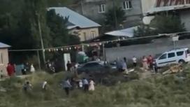 Массовая драка в Алматинской области