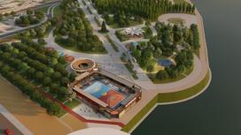"""Проект """"Колизея"""" в парке Ататюрк"""