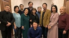 Сундет Байгожин с артистами
