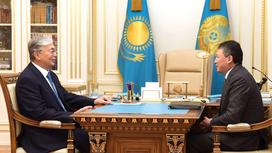 Токаев встретился с Кулибаевым