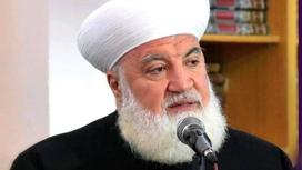 Аднан Аль-Афьюни говорит в микрофон
