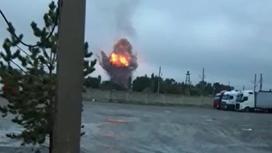 Взрыв под Таразом