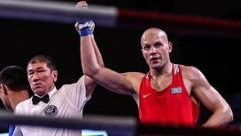 Казахстанский боксер Василий Левит