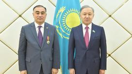 Нурлан Нигматулин с Рашадом Маммадовым