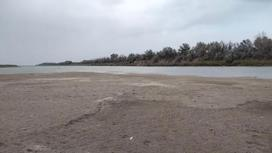 Участок реки Жайык