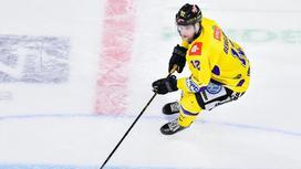 Хоккеист Якоб Берглунд