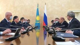 Аскар Мамин провел переговоры в Москве
