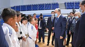 Президенттің спортшылармен кездесуі