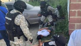 Задержание в Алматинской области