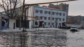 Уральск в воде