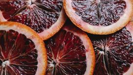 Дольки красного апельсина