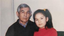 Макпал Исабекова с отцом