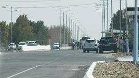 Граница между Узбекистаном и Афганистаном