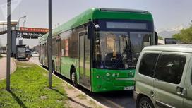 ДТП с участием атвобуса