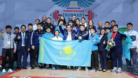 Сборная Казахстана по тяжелой атлетике