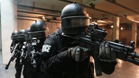 Полицейские с оружием