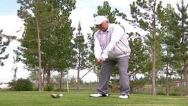 Нурсултан Назарбаев играет в гольф
