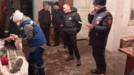 Обвал в шахте в Акмолинской области