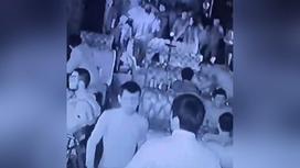 Избиение на танцполе в Атырау