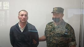 Валентин Штырь на суде